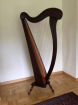Harpe celtique 36 cordes - Miniature